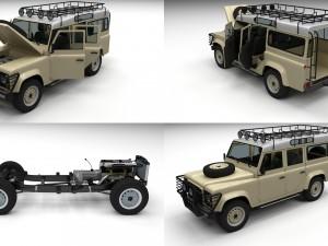 Full Land Rover Defender 110 Station Wagon