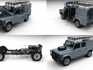 Full Land Rover Defender 110 Utility Station Wagon