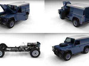 Full Land Rover Defender 90 Hard Top