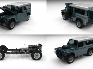 Full Land Rover Defender 90 Station Wagon