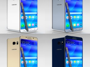 Samsung Galaxy Note 5 All Color Pack
