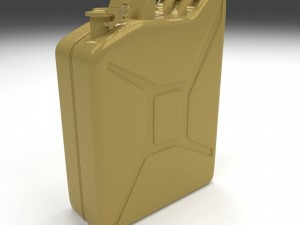 Jerry Can Yellow