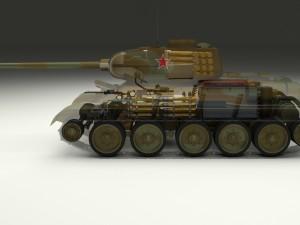 T-34-85 Interior-Engine Bay Full Camo