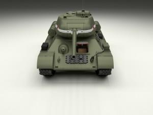 T-34-85 with Interior HDRI