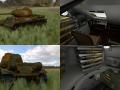 T-34-85 with Interior HDRI Camo