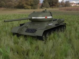 T-34-85 Tank HDRI