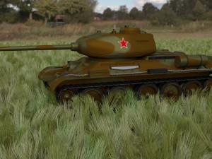 T-34-85 Tank HDRI camo