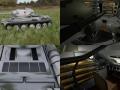 T-34-85 with Interior HDRI Winter Camo