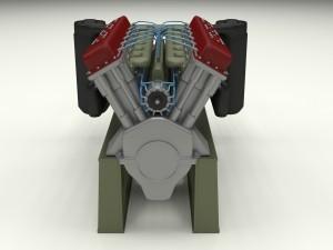 T-34 Engine