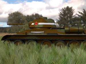 T34-76 Tank Camo HDRI