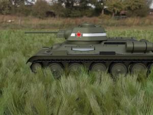 T34-76 Tank HDRI