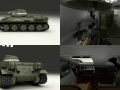 T34-76 Tank with Interior