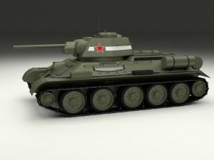 T34-76 Tank