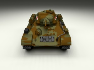 T34-76 Tank Camo