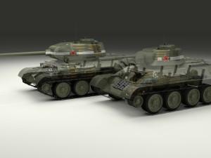 T-34 76-85 Tanks w Interior