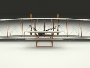 Rigged Wright Flyer 1903