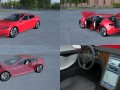 Tesla Model S with chassis-interior HDRI