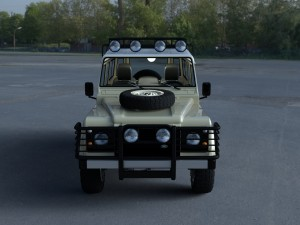 Land Rover Defender 110 Station Wagon w interior H