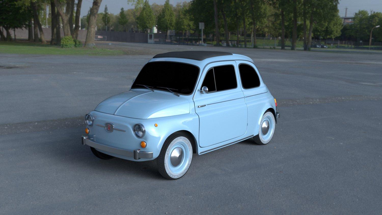 Fiat 500 Nuova 1957 Hdri 3d Model In Classic Cars 3dexport