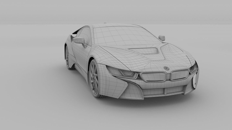 Bmw I8 Rev 3d Model In Compact Cars 3dexport
