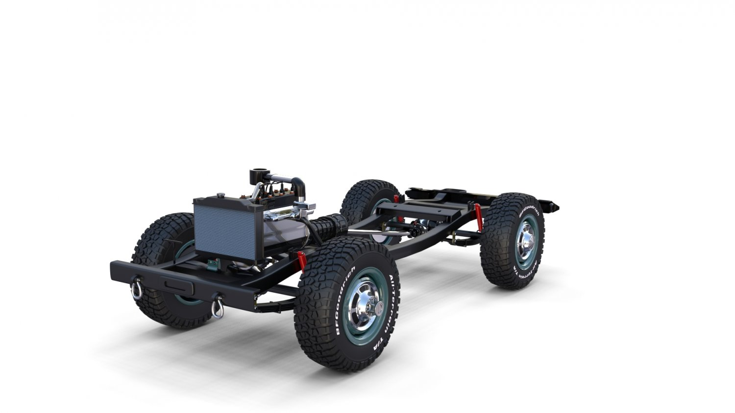 Full Offroad Vehicle Chassis 3D Model in Classic Cars 3DExport