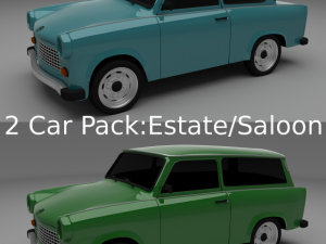 Trabant 601 SedanEstate Pack