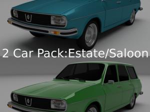 Renault 12Dacia 1300 SedanEstate Pack