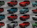 16 Car MegaPack 3D Model