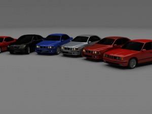 BMW 5 series E34E39E60 BMW 8 series E31