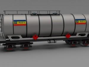 CFR train tanker car