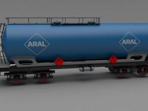 Aral train tanker car