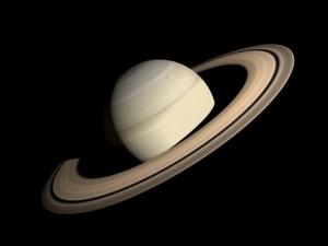 Animated HD Saturn Model
