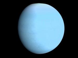 Animated Uranus Model