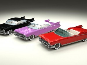 1959 Cadillac Eldorado 62 Series Pack