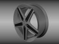Mercedes rim 3D Model
