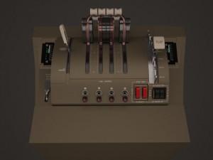 B747 Throttle Quadrant