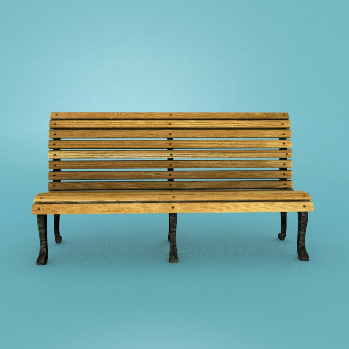 Awesome Bench Games Part - 5: Low Poly Bench 2 For Games Dev 3D Model