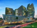 Shopping Mall Building Exterior Design Night View
