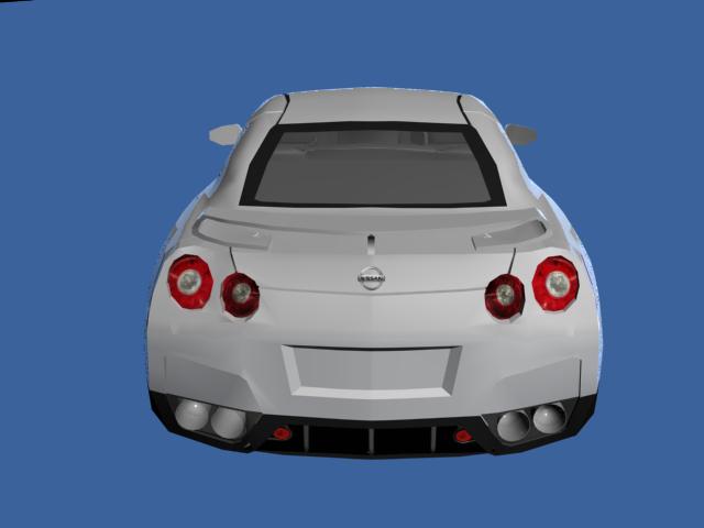 Nissan Gtr Free 3d Model In Sport Cars 3dexport