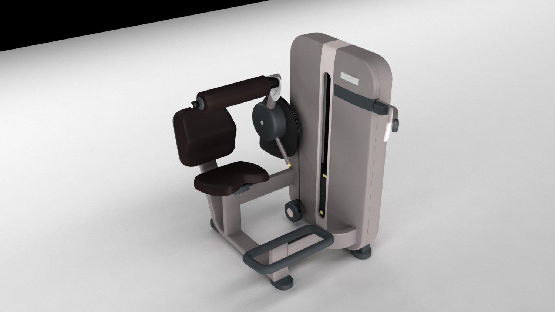 123d4dc8c8 Lowerback Gym Power Trainer 3D Model in Sports Equipment 3DExport