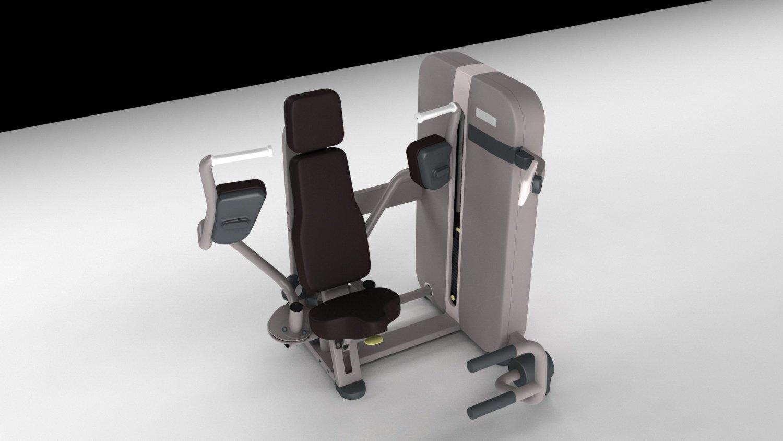 Pectoral Gym Power Trainer 3D Model in Sports Equipment 3DExport