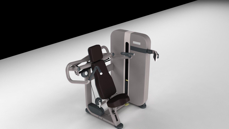 e33dc8510d Shoulder Gym Power Trainer 3D Model in Sports Equipment 3DExport