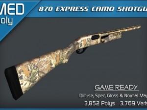 Remington 870 Express Camo Shotgun