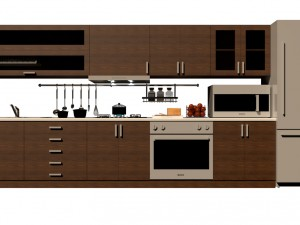 Modern Kitchen 3d Model kitchen 3d models - download kitchen 3d models3dexport