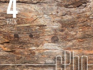 TEXTURE 4 PACK  Bark Stringy 01