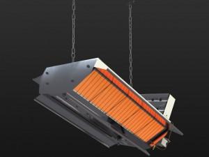 Gas ceramic heater 216 XLA