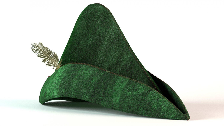 Robin Hood Hat 3D Model in Clothing 3DExport e61d581c931