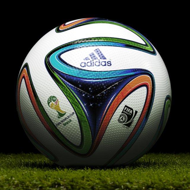 Football Ball Brazuca 3D Model