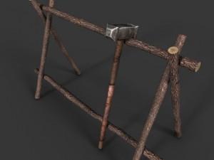 Simple Weapon Rack