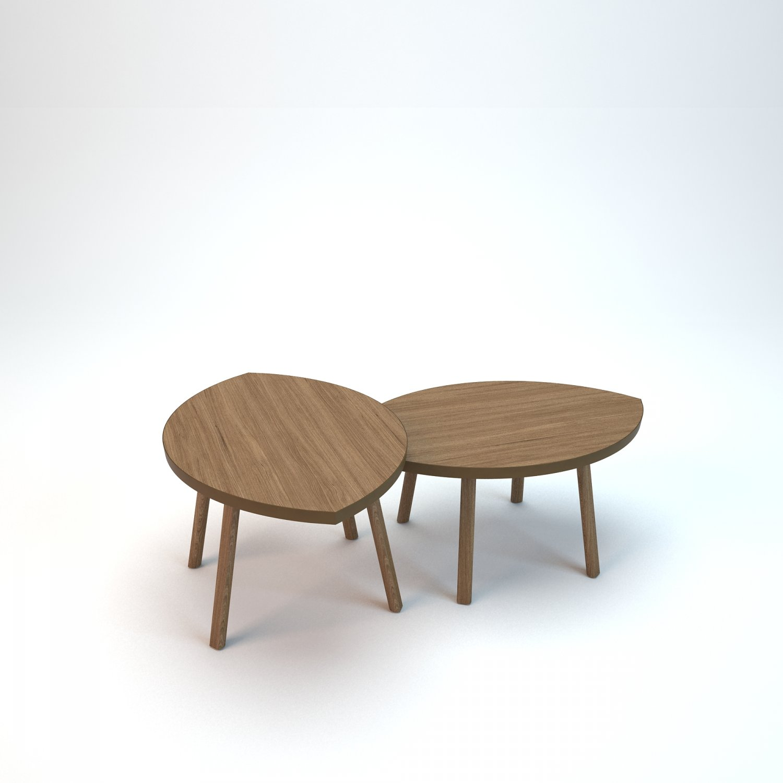 Ikea STOCKHOLM set Modèle 3D in Table 3DExport